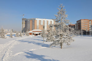 Зима на Каменке