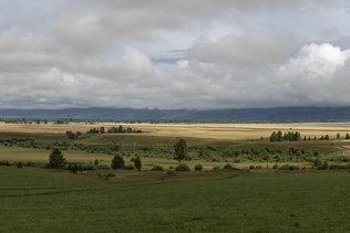 Панорама Уймонской долины