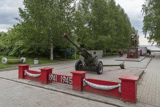 Сквер памяти воинов-освободителей в Великой Отечественной войне на ОбьГЭС