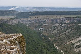 Горный пейзаж над Бахчисараем