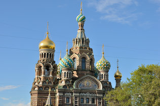Храм Спаса-на-Крови на канале Грибоедова