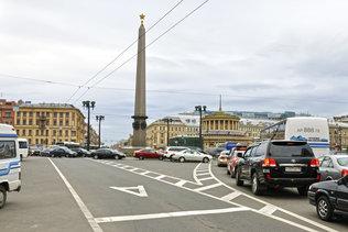 Площадь Восстания. Обелиск Городу-герою Ленинграду