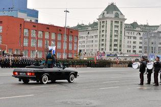 Начало репетиции парада Победы