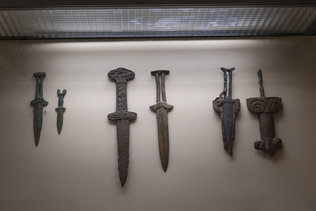 Ножи из бронзы