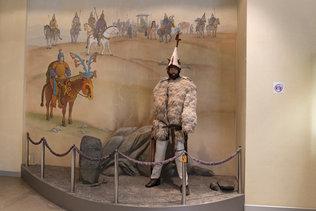 Алтайский воин в музее Анохина