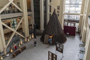В музее Анохина в Горно-Алтайске