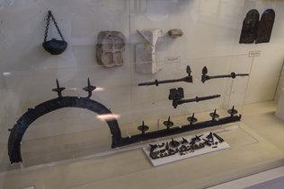 Экспонаты византийской экспозиции Херсонеса
