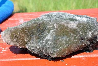 Соляной камень из озера Мормышанское