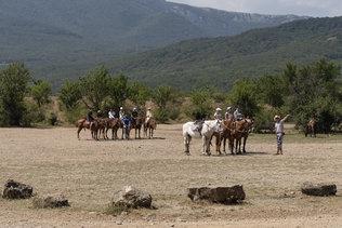 Конная прогулка в окрестностях Алушты