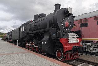 Паровоз грузовой серии СОм №17-508 в музее имени Н.А. Акулинина