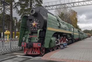 В музее железнодорожной техники имени Н. А. Акулинина