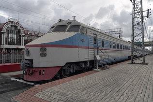 Электропоезд ЭР 200-2 в музее имени Н. А. Акулинина