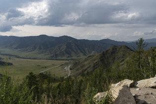 На перевале Чике-Таман
