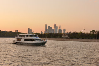 Новая Москва на закате