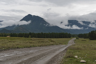 Дорога в село Мульта