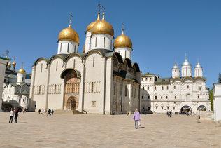 На Соборной площади Кремля