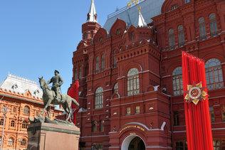 Памятник маршалу Советского Союза Жукову Г.К.