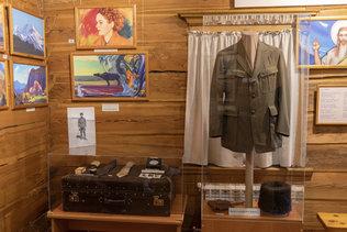 Экспонаты музея Н.К. Рериха в Верхнем Уймоне