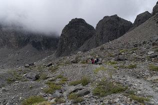 Бараньи лбы на леднике Большой Актру