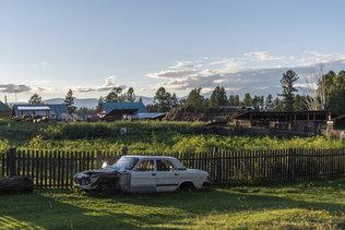 Летний вечер в селе Замульта