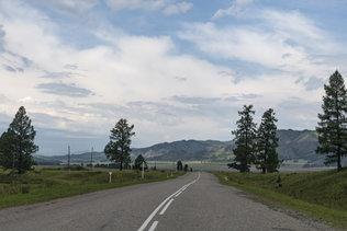 Дороги Горного Алтая