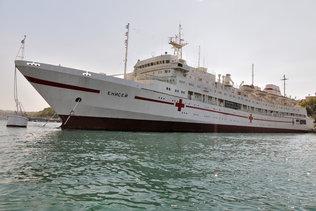 Плавучий госпиталь Енисей