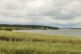 На берегу Обского водохранилища