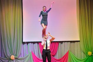 Танцевальный конкурс в ДК Октябрьской революции