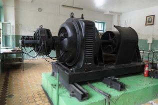 Генератор Чемальской гидроэлектростанции