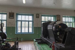 В машинном зале Чемальской ГЭС