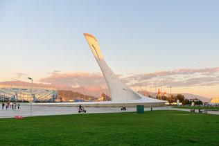 В олимпийском парке в Сочи