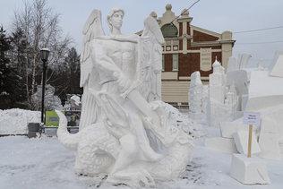 Михаил Архангел - Фестиваль снежной скульптуры 2021