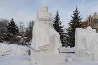 """Скульптура """"Не в силе Бог, а в правде"""" из города Смоленска"""