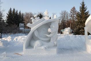 Фестиваль снежной скульптуры 2019