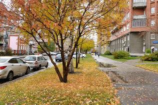 Осень на улице Сибревкома