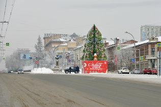 С Новым годом, Новосибирск!