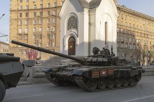 Военный парад 2021 в Новосибирске
