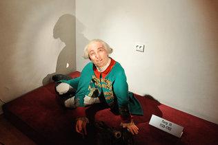 Петр Третий в музее восковых фигур