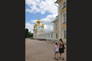 Церковный корпус Большого Петергофского дворца