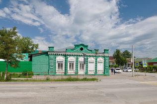 Дом А.И. Пехтерева в Колывани. Построен в 1897 г.