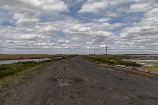 Дорога в Гуселетово