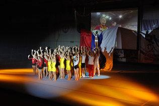 Открытие турнира по спортивной гимнастике
