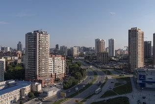 Утренний Новосибирск