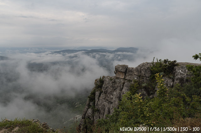 В горах над Бахчисараем