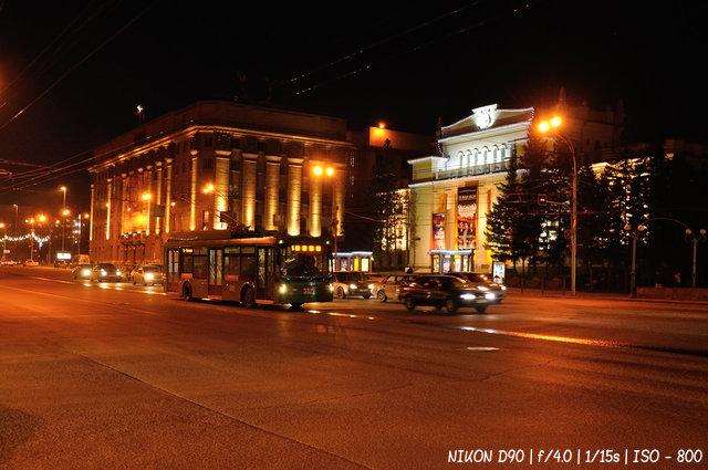Ночной Красный проспект