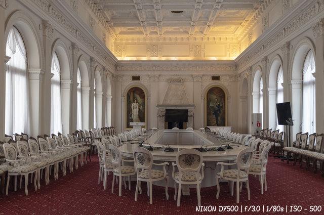 Зал заседаний Ливадийского дворца