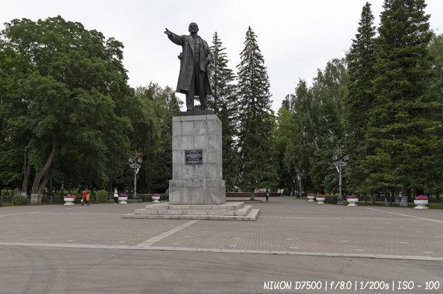 Ленин в Горно-Алтайске