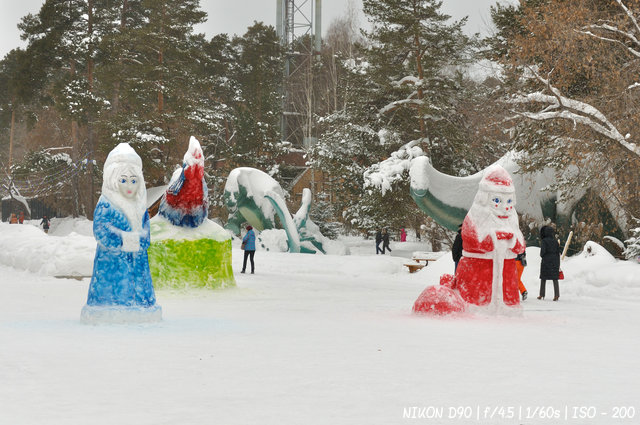 Новогодний зоопарк