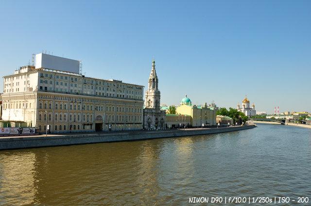 На берегах Москва-реки