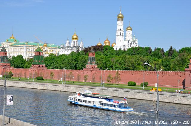 На параходе по Москве-реке